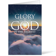 Glory to God Bulletin