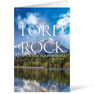 Lord My Rock  8.5 x 11 Bulletins 8.5 x 11