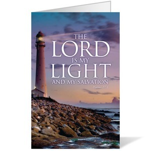 Lord Is My Light 8.5 x 11 Bulletins 8.5 x 11