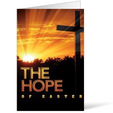 Easter Hope Cross Bulletin