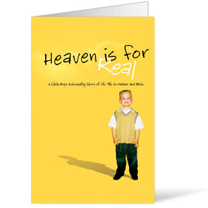 Heaven Is For Real 8.5 x 11