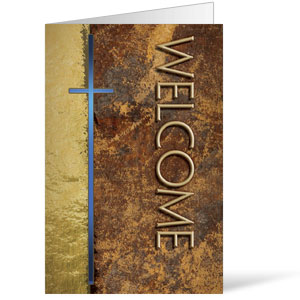 Leather Welcome  8.5 x 11 Bulletins 8.5 x 11