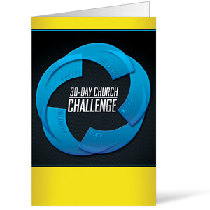 30-Day Church Challenge Bulletins