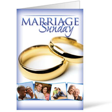 Wow! Sunday Marriage Sunday Bulletin