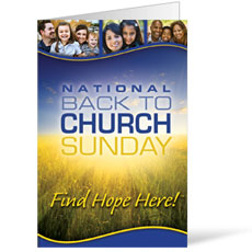 Back To Church Sunday 2012 Bulletin