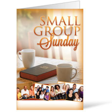 Wow! Sunday Small Group Sunday Bulletin