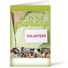 Wow! Sunday Serve Sunday Bulletin