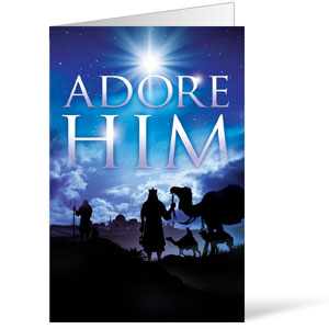 Adore Him 8.5 x 11 Bulletins 8.5 x 11