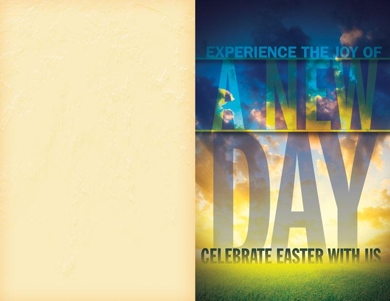New Day Easter Bulletin Church Bulletins Outreach