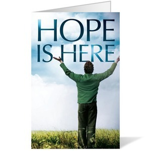 Hope Is Here 8.5 x 11 Bulletins 8.5 x 11