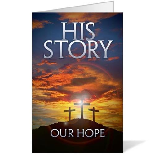 His Story Our Hope Bulletin Church Bulletins Outreach