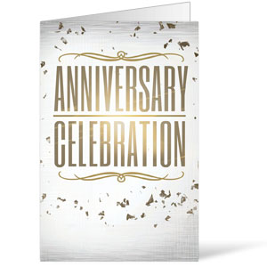 Anniversary Celebration Bulletins