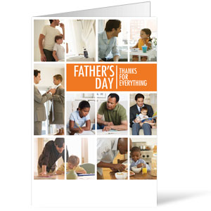 Fathers Day Dads 8.5 x 11 Bulletins 8.5 x 11