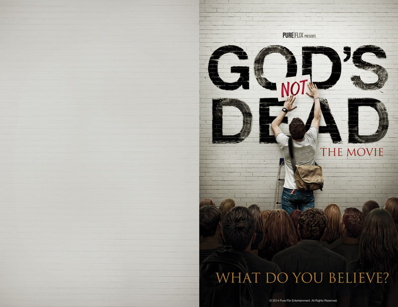 God's Not Dead Bulletin