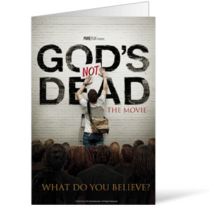Gods Not Dead 8.5 x 11 Bulletins 8.5 x 11