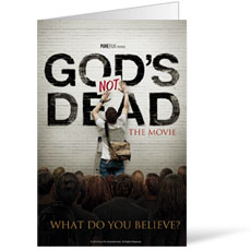 God's Not Dead Bulletin Shell