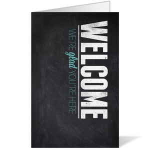 Slate Welcome 8.5  x 11 Bulletins 8.5 x 11