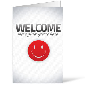 Pinstripe Welcome 8.5 x 11 Bulletins 8.5 x 11