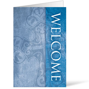Cross Welcome 8.5 x 11 Bulletins 8.5 x 11