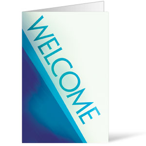 Color Rays Welcome 8.5 x 11 Bulletins 8.5 x 11