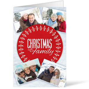 Christmas Family Bulletins 8.5 x 11