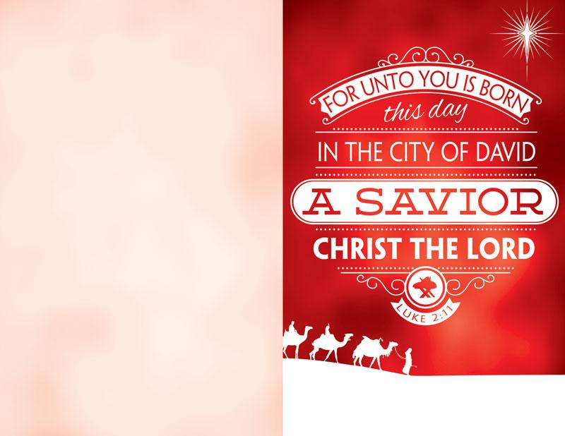 Luke 2 Christmas Bulletin - Church Bulletins - Outreach ...