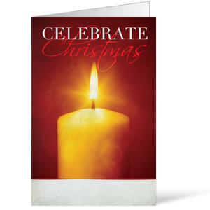Celebrate Christmas Candle Bulletins 8.5 x 11