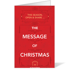 The Message of Christmas Bulletin