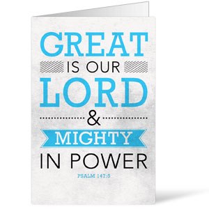 Great is Our Lord 8.5 x 11 Bulletins 8.5 x 11