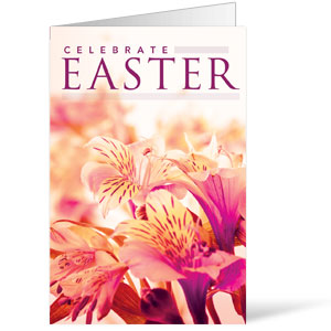 Celebrate Easter Flowers Bulletins