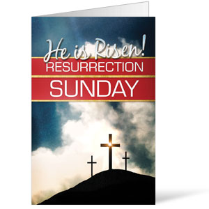 Risen Resurrection - 8.5 x 11 Bulletins 8.5 x 11