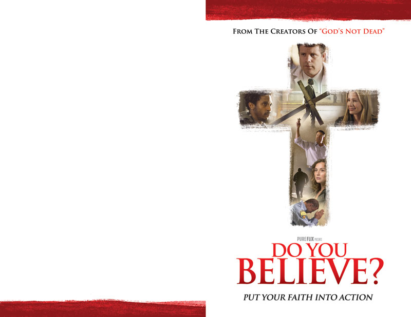 Do You Believe Bulletin
