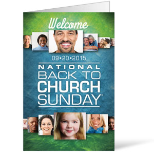 Back to Church Sunday 2015 Bulletins
