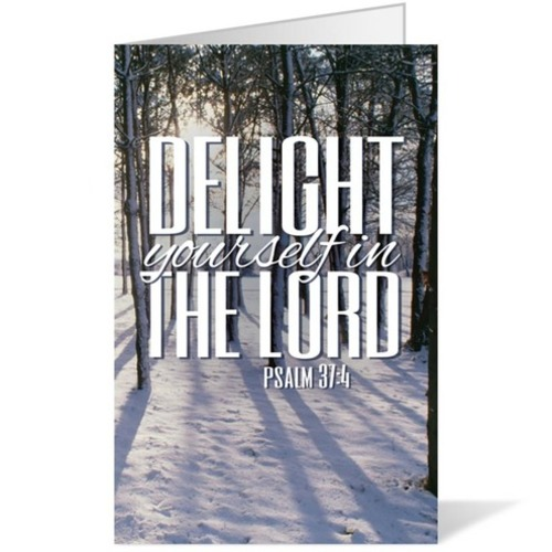 Scenery Scripture Psalm 37 4 Bulletin Church Bulletins