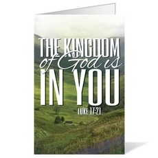 Scenery Scripture Luke 17:21 Bulletin