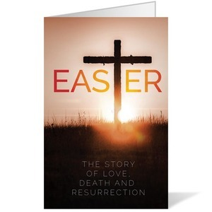 Easter Cross Bulletins