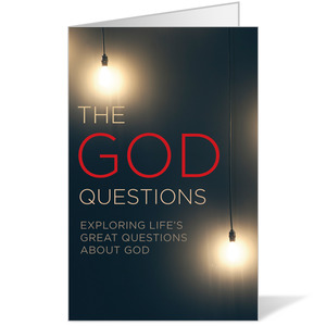 God Questions Bulletins 8.5 x 11