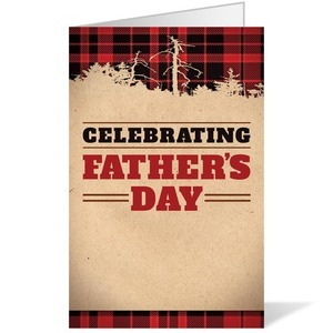 Father's Day Plaid Bulletins