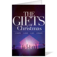 The Gifts of Christmas Advent Bulletin