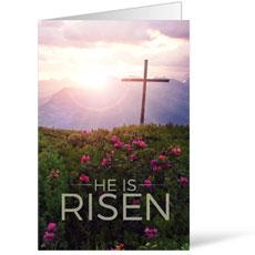 He Is Risen Mountain Bulletin