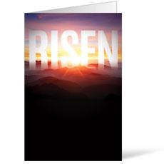 Mountain Risen Bulletin