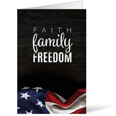 Faith Family Freedom Bulletin