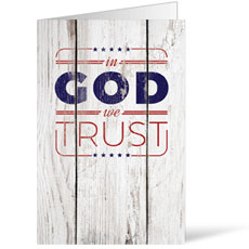 In God We Trust Wood