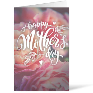 Mothers Day Flowers Bulletins 8.5 x 11