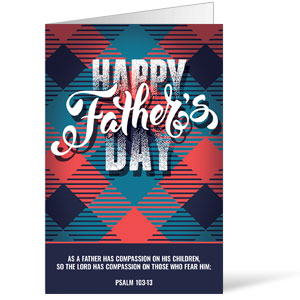 Fathers Day Argyle Bulletins