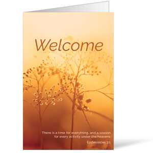 Welcome Season Fall Bulletins 8.5 x 11