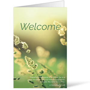 Welcome Season Spring Bulletins 8.5 x 11