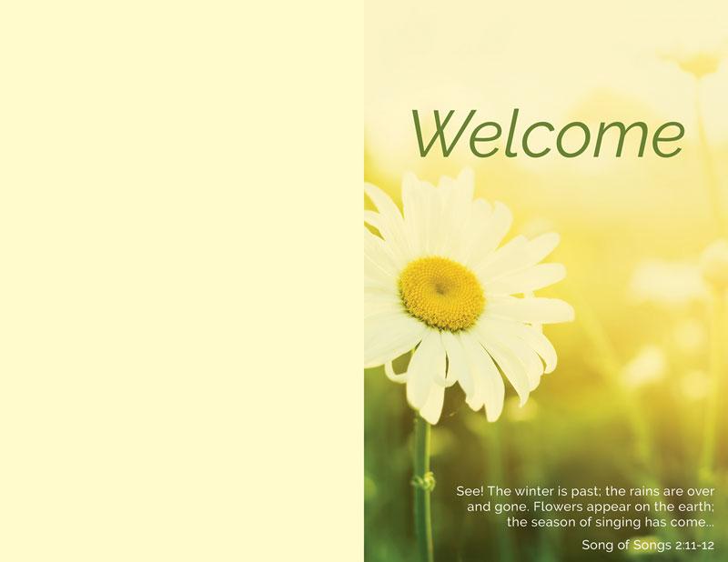 welcome season summer bulletin