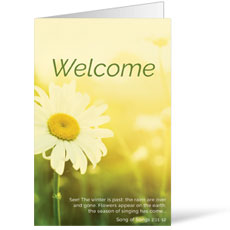 Welcome Season Summer Bulletin