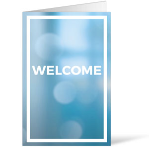 Shimmer Welcome Bulletins 8.5 x 11